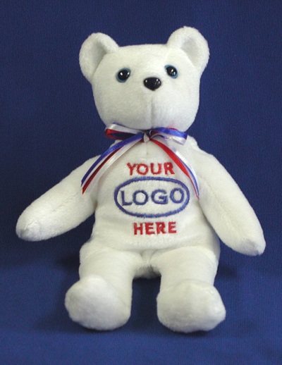 Order a custom logo bear for your corporate promotion or event. We are an ASI supplier. Distributor orders are welcome.