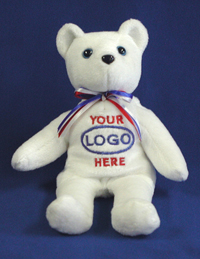 Your Logo Here Bear. Promotional Logo Bears from LogoBears.com.