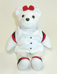 Bowling Bear. Order custom teddy bears from LogoBears.com.
